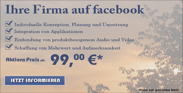Facebook Angebot