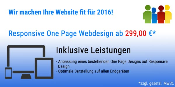 Responsive Onepage