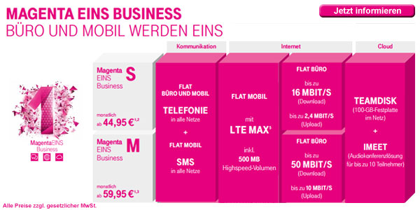 Magenta Eins Business